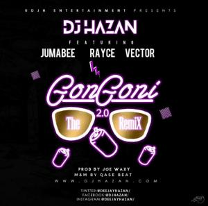 Dj Hazan - Gongoni 2.0 (ft. Vector, Jumabee & Rayce)